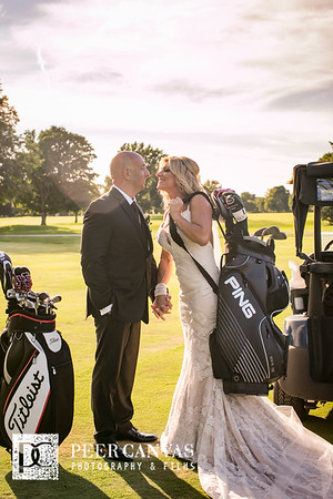 Rockford Country Club Golf Wedding | Pamela + Pete