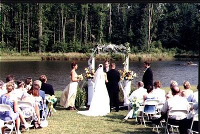 Where better to wed than B&B's Country Garden Inn?