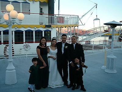 rosalind & glen's wedding