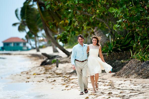 Rose & Blake - Wedding - Belize - 14th of February 2016