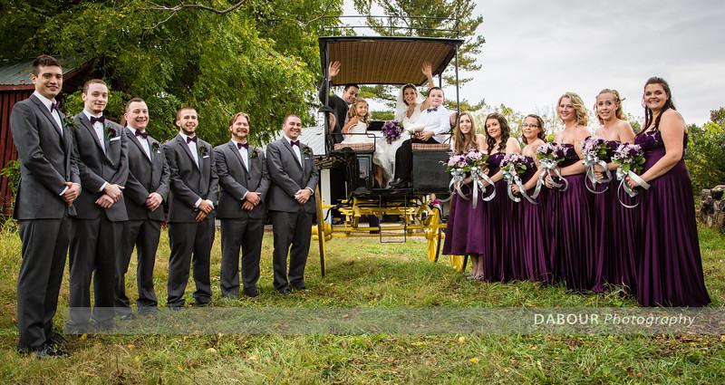 Kailey & Jason Wedding Formals