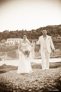 Wedding in Spetses, Greece