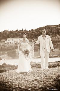 Wedding in Spetses, Greece