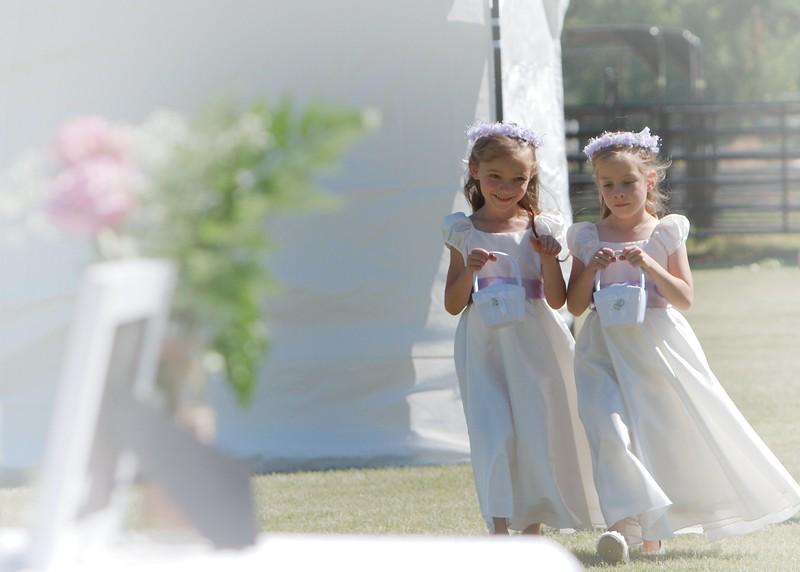 Flower Girls walk
