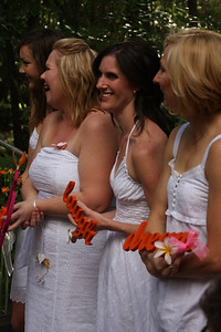 Natarsha and Ryans Wedding, Brisbane, Australia, December 2007. Raven Street Reserve at McDowall. Photography by Trent Williams.