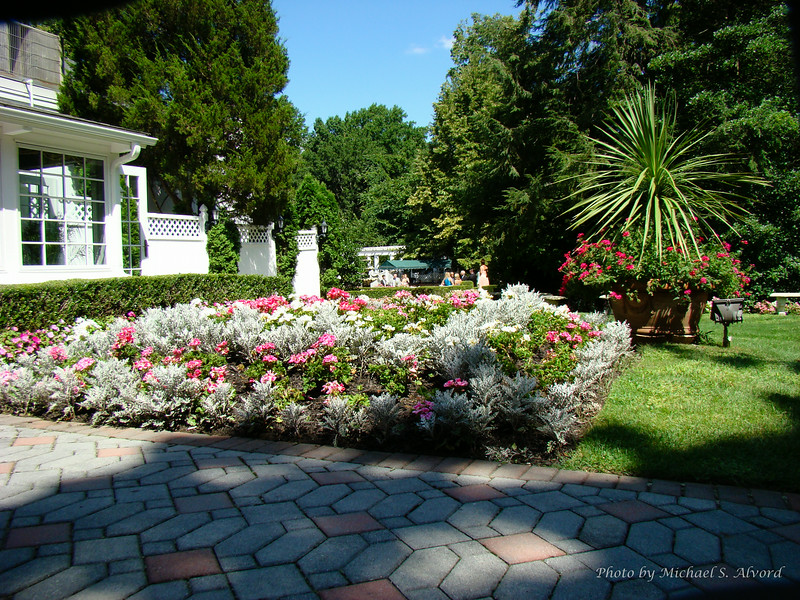 The floral gardens at Shadowbrook