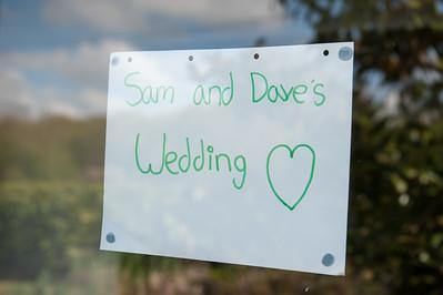 Sam & Dave Wedding 250415