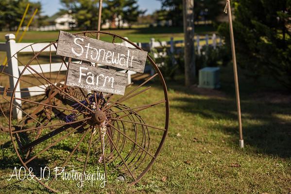 Sam & Rodney's Wedding :: Stonewall Farms :: AO&JO Photography