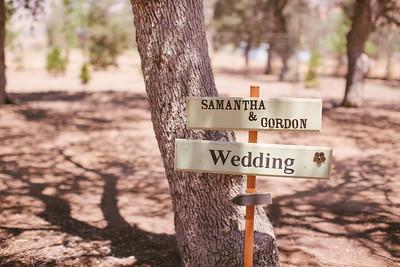 Samantha and Gordon Wedding