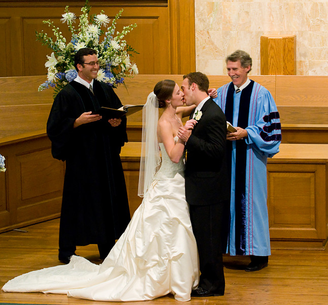 "The Ceremony - The instructions you have been waiting for - ""You may kiss the Bride"""