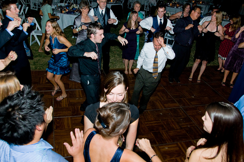 Dancing in Celebration - The joy of family and friends celebrating in dance.  This crowd really knows how to dance!