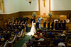 Wedding Ceremony - available light - no flash allowed in this and often other churches during the ceremony.