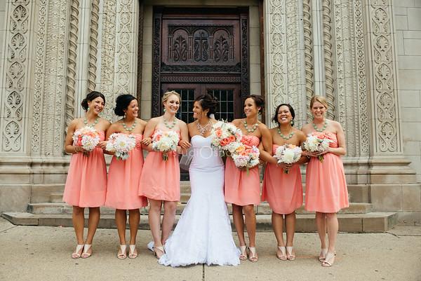 sana + ryan | wedding | fountain street church, eberhard center, grand rapids
