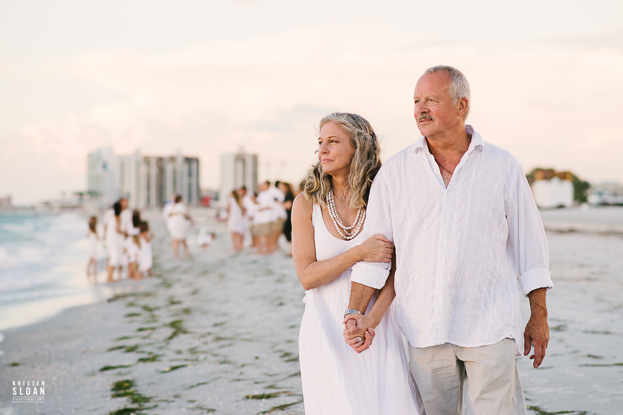 Sand Key Clearwater Beach Wedding Vow Renewal