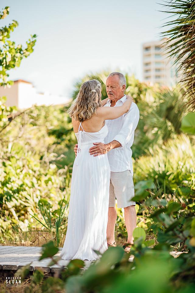 Sand Key Clearwater Beach Wedding Vow Renewal