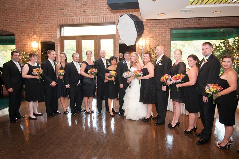 Sara Lowman and Steve Olson Wedding, October 14, 2011, at Collingwood Library, Alexandria, VA - and The Grand Atrium in Dunn Loring, VA.
