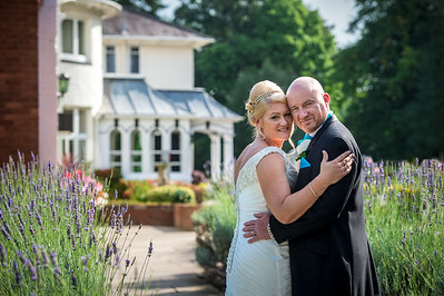Sarah and Sean at Brandon Hall Coventry
