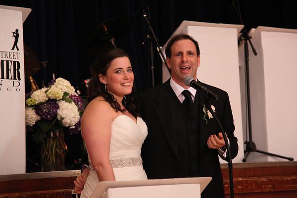 Sara and Taron - the reception