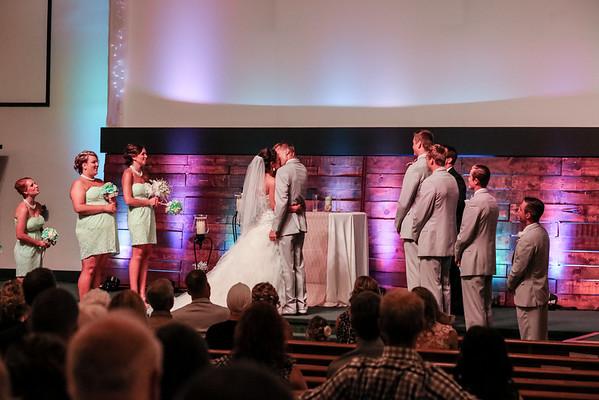 Sarah + Brandon's Wedding - 8/15/15