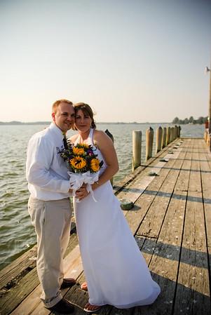 Sarah + Bryan. Historic Oxford, Maryland Wedding.