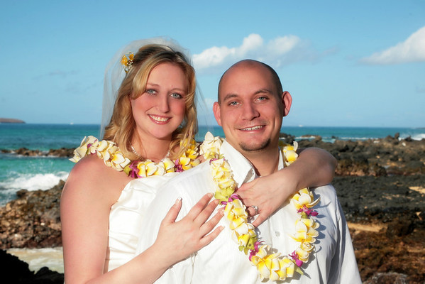 Sarah & John Celebrate On Maui