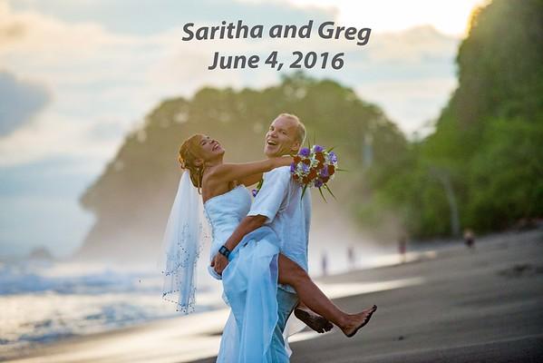 Saritha and Greg June 4, 2016