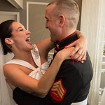 Wedding of Sasha and Patrick<br /> Intimate gathering. Ceremony and reception at JAM <br /> Ken Carl Photography