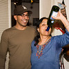 No need to worry it was only her second bottle.  The bottle was blue, but inside was......<br /> <br /> a -> Lal Lal drink!   :-)