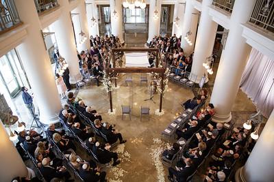 Wedding and Reception in Schermerhorn
