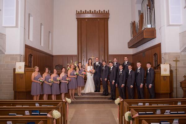 Indoor Bridal Party Formals