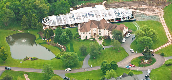 Schottland Wedding Aerial Photos