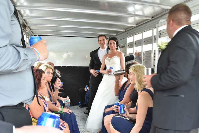 Wedding Party tour after Ceremony