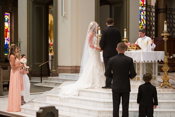 Traditional Downtown Richmond Wedding at Cathedral of the Sacred Heart