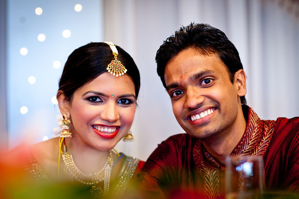 Setika + Santhosh Wedding