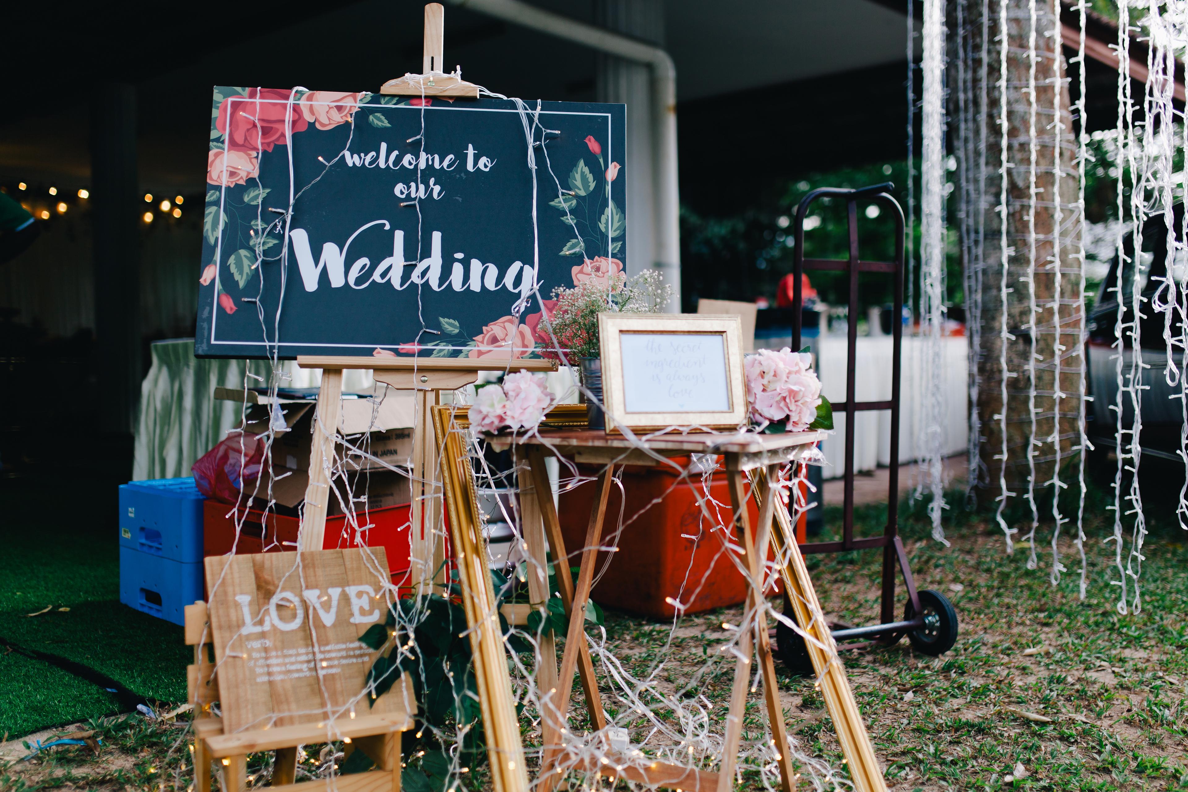 Garden Wedding in Kuala Kangsar