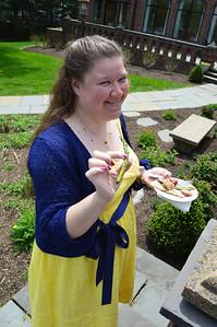 Asparagus! Becky says.