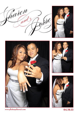 Sharen + Jesse (Stand Up Photo Booth)