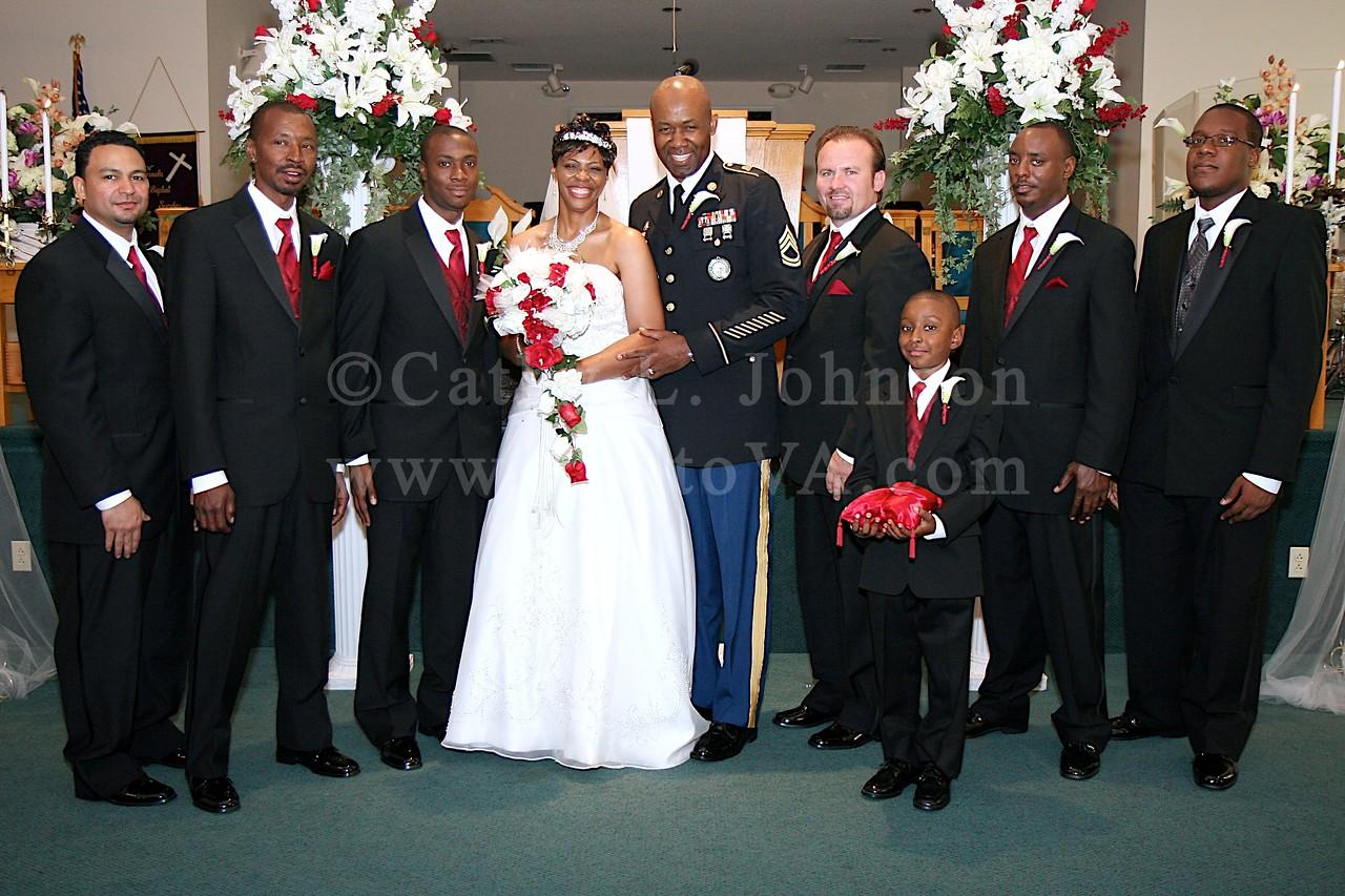 Newport News Wedding Photography - Colossian Baptist Church - Community Club - Fort Eustis
