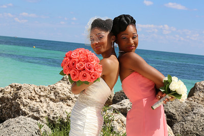 Shawn & Chandia Sorsby's Wedding in the Bahamas