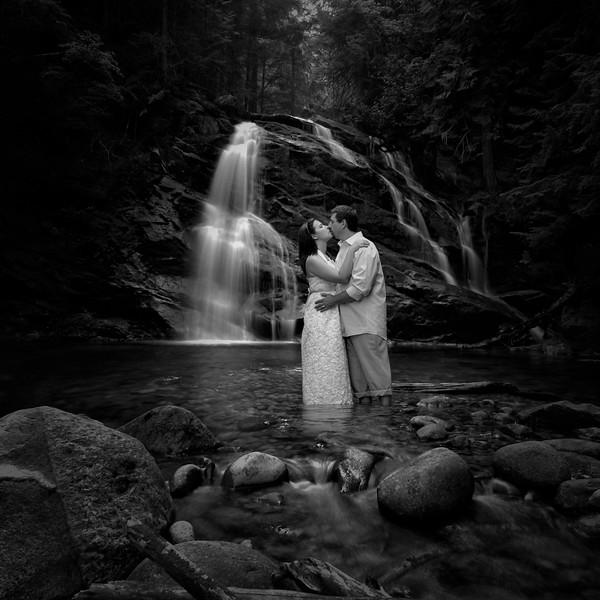 Priness Bride shot at the falls