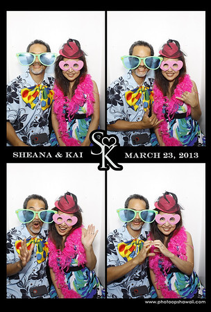 Sheana & Kai (Luxe Photo Booth)