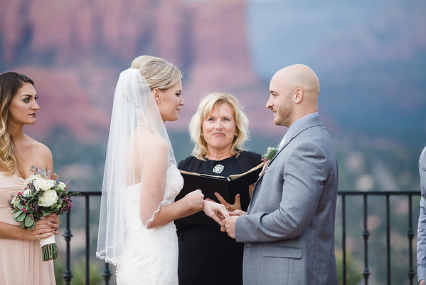 Shelby and Brian, Sky Ranch Lodge, Sedona
