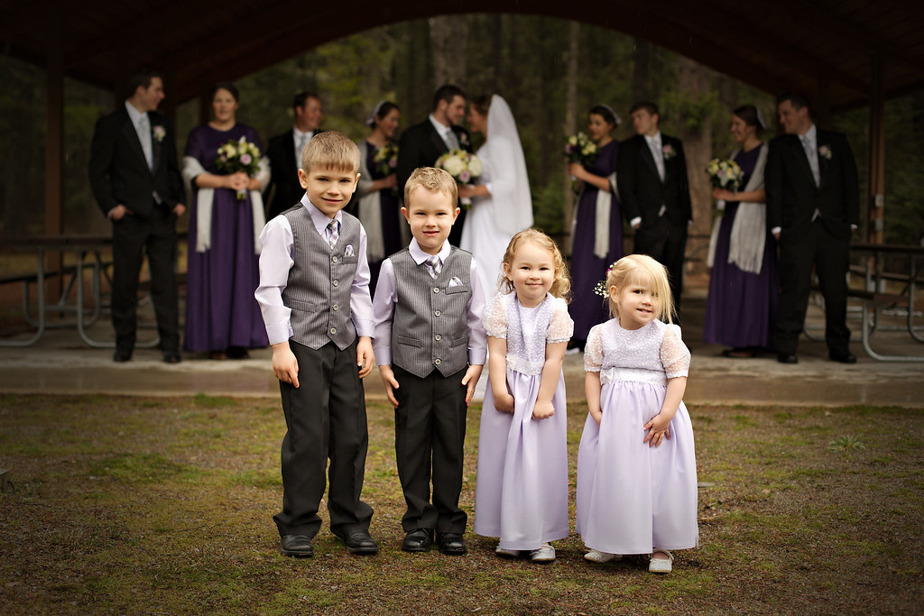 The younger portion of our Bridal Party