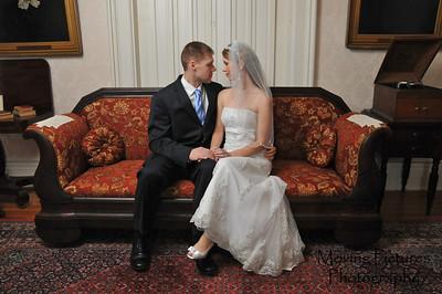 Shelley & Matt at Promont House Museum