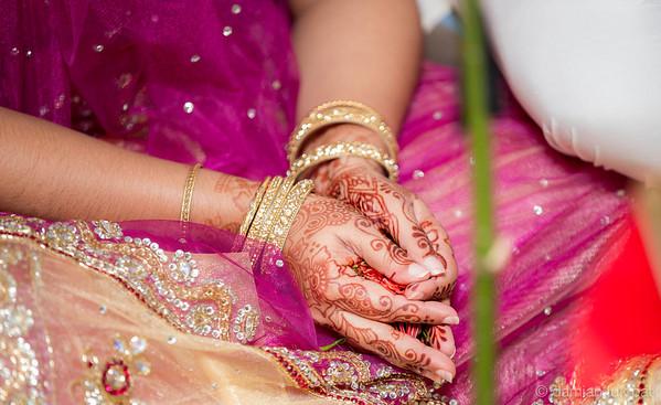Shelly Sookoo Hindu Wedding
