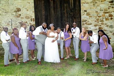 Sierra and Jullz Wedding 5/15/17