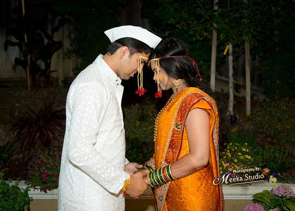 Smriti weds Shiva Haldi Pictures
