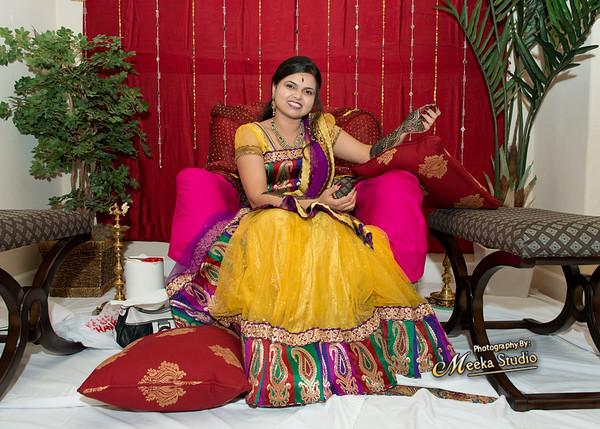 Smriti weds Shiva  Mehndi Pictures
