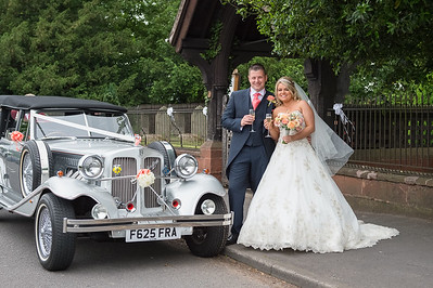 Sophie & Shaun at  St Micheals Church Himley & Patshull Park