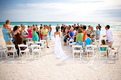 The wedding of Mckenzi & Jason won the cover contest for Southern Bride Magazine Summer/Winter 2010.  They were married at the Beachhouse Restaurant on Anna Maria Island.  Photos by Dara Caudill www.islandphotography.org